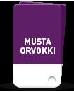 MUSTA ORVOKKI
