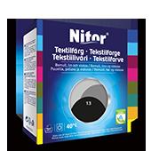 Emballage du produit Nestemäinen tekstiiliväri