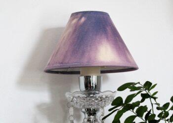 Tähtikuvioinen lampunvarjostin