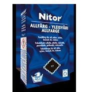 Emballage du produit Yleisväri - mm. villalle ja polyamidille