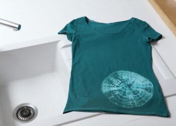 Sitoen värjätty T-paitani